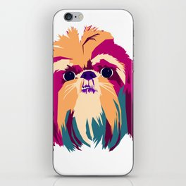 Shih Tzu Face iPhone Skin