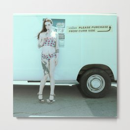 Ice Cream Popcicle Chola Metal Print