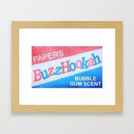 BuzzHookah - 011 Framed Art Print