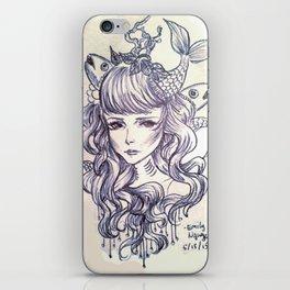 A Mermaid iPhone Skin