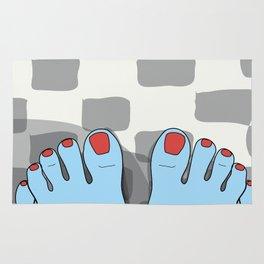 Yeti feet Rug