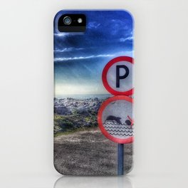 Do not swim with the dolphin iPhone Case