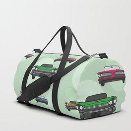 Route 66 colorful cars Duffle Bag