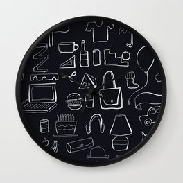 A few of my favourite things Wall Clock
