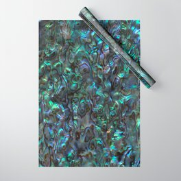 Abalone Shell | Paua Shell | Sea Shells | Patterns in Nature | Natural | Wrapping Paper