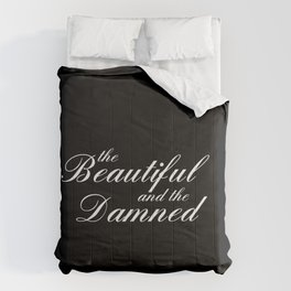 the beautiful and the damned Comforters
