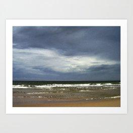 Clouds and Ocean Art Print