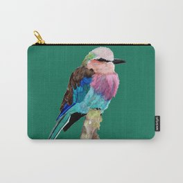 Lilac Breasted Roller Bird Carry-All Pouch