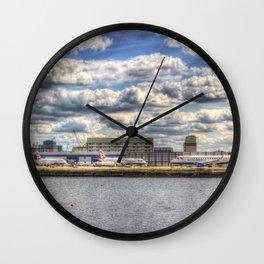 London city Airport Wall Clock