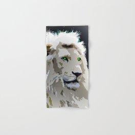 White Lion Hand & Bath Towel