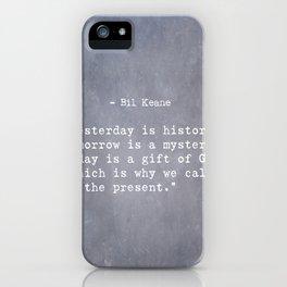 Bil Keane quote 2 iPhone Case
