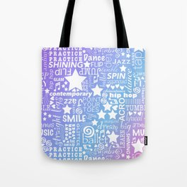 Dance Obsession Tote Bag