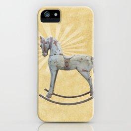 Vintage rocking horse - Toy Photography #Society6 iPhone Case