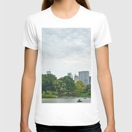Sunday morning in Central Park NYC T-shirt