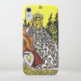 Empress Tarot iPhone Case