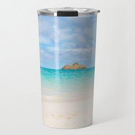 Lanikai Beach Travel Mug