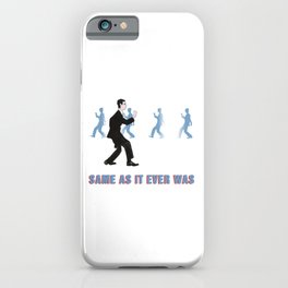 Talking Heads ~ Once In A Lifetime Walk iPhone Case
