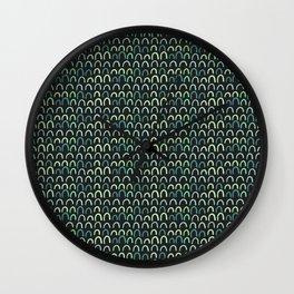 bumps Wall Clock