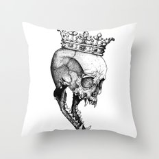 Ancients Kings : The Wolf Throw Pillow