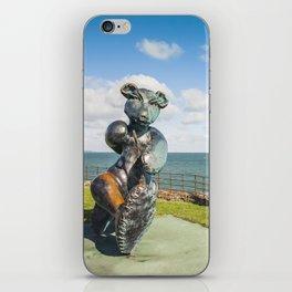 Irish landscape in Greystones iPhone Skin