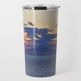 Mount Athos at Sunset Travel Mug