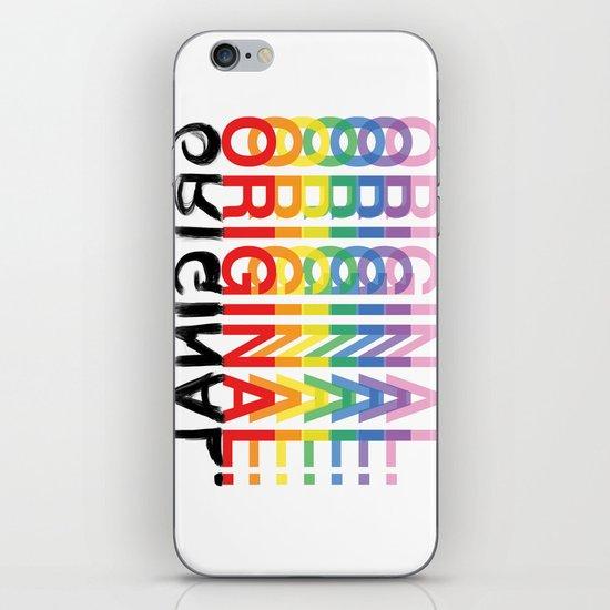 Original. iPhone & iPod Skin