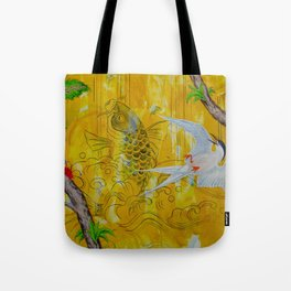 Lucky Terns Tote Bag