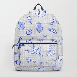 The sea messenger / Cobalt blue Backpack