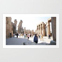 Temple of Luxor, no. 27 Art Print
