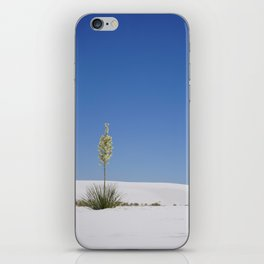Blue Skies and Yucca iPhone Skin