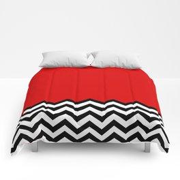 Black Lodge Dreams (Twin Peaks) Comforters