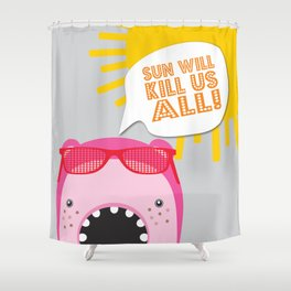 FOUR SEASONS CHARACTERS - Summer type Shower Curtain