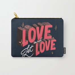 Love & Let Love Carry-All Pouch