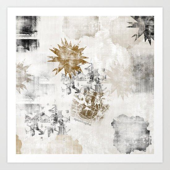 Sandy FLOW Art Print
