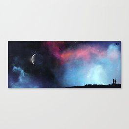 Listen. Can you imagine if space sounded like that? ♫ Canvas Print