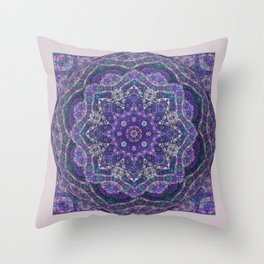 Batik Meditation  Throw Pillow