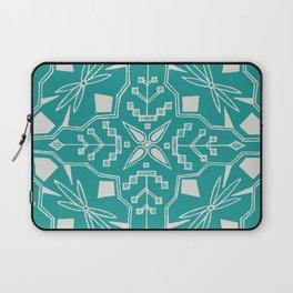 Turquoise Batik Laptop Sleeve