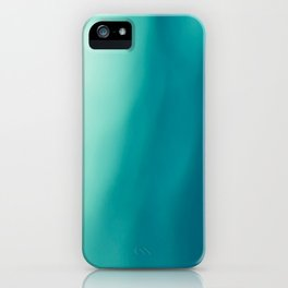 The colors of the deep ocean iPhone Case