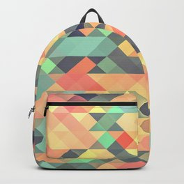 Tribal Triangles Backpack