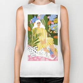 The Jungle Lady Biker Tank