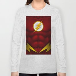 Flash: Superhero Art Long Sleeve T-shirt