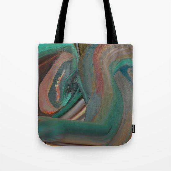 Running From Death Tote Bag
