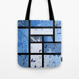 Movin with Pollock, Mondrian & Haring  Tote Bag