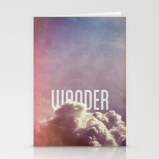 Wander (vertical) Stationery Cards