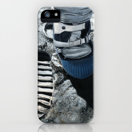Moonboot iPhone Case