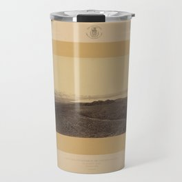 Geological Exploration of the Fortieth Parallel (1869) - Mono Lake, California Travel Mug