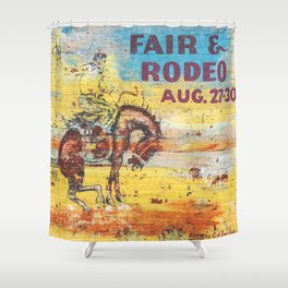 Fair & Rodeo Shower Curtain