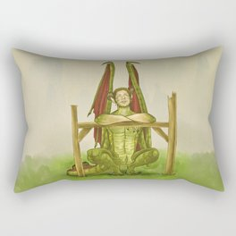 Dragon!Dean Rectangular Pillow
