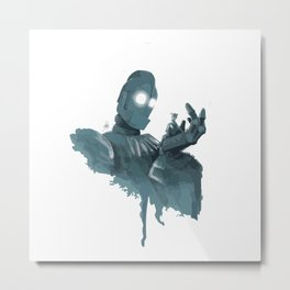 Iron Giant (2) Metal Print