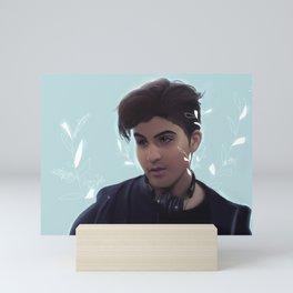 "SKAM (Druck) - ""aha"" Mini Art Print"